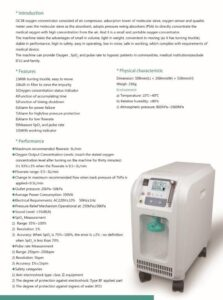 kyslikovy generator