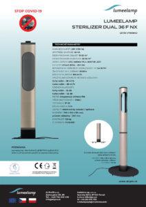 UV-C Covid lampy s cirkulací